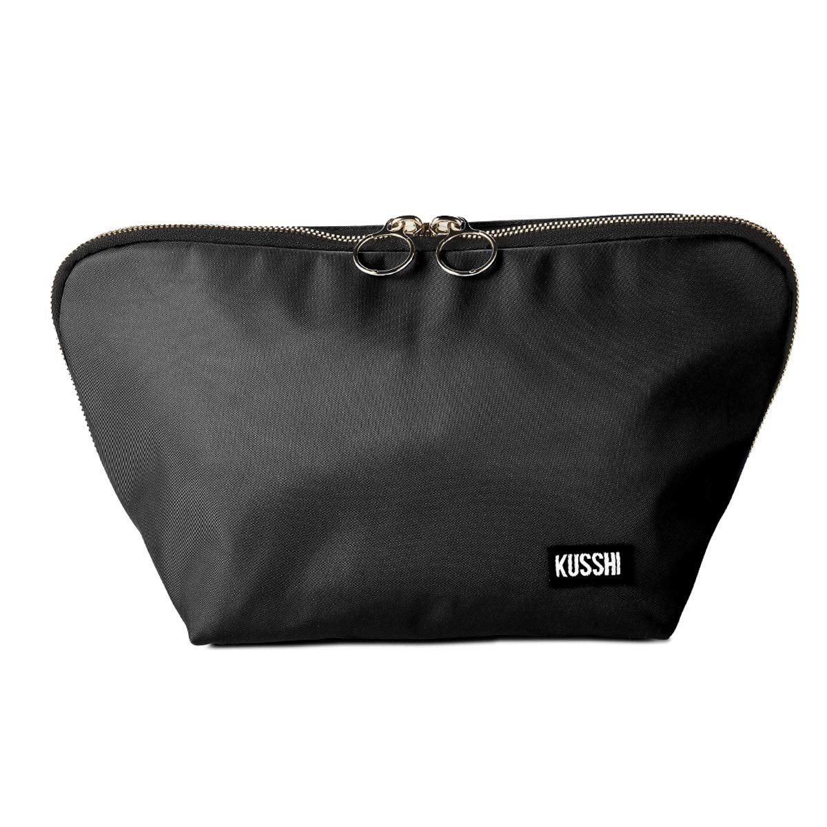 KUSSHI Washable Travel Makeup Cosmetic Bag
