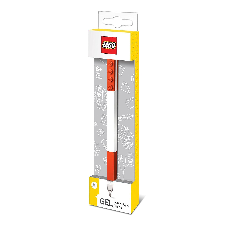 Lego 0229622 Cancelleria Penna Gel, 1 Pezzo, Rosso West DesignLE51475