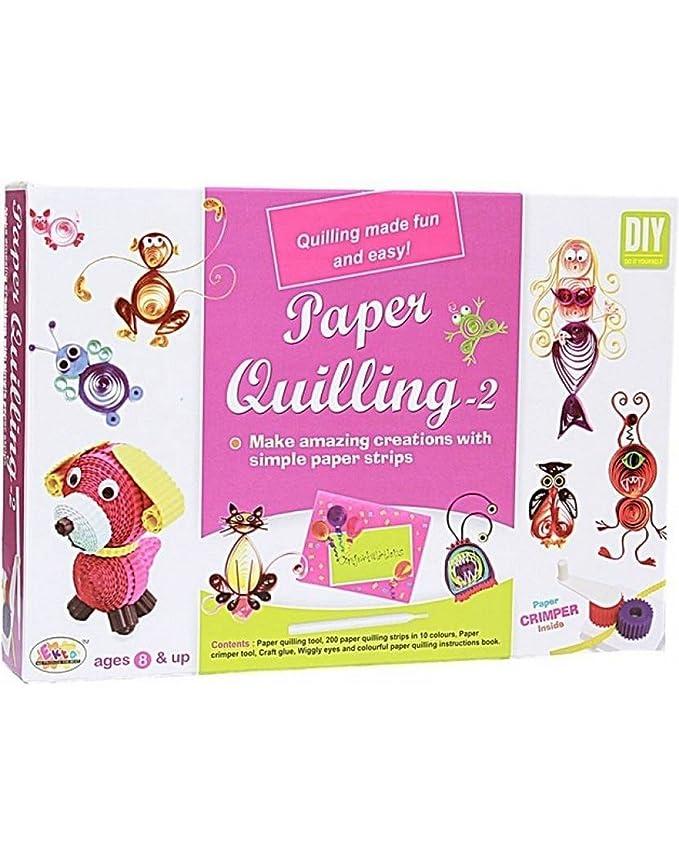 Buy Ekta Paper Quilling 2 Kit Tool Set For Kids 8 Years Art