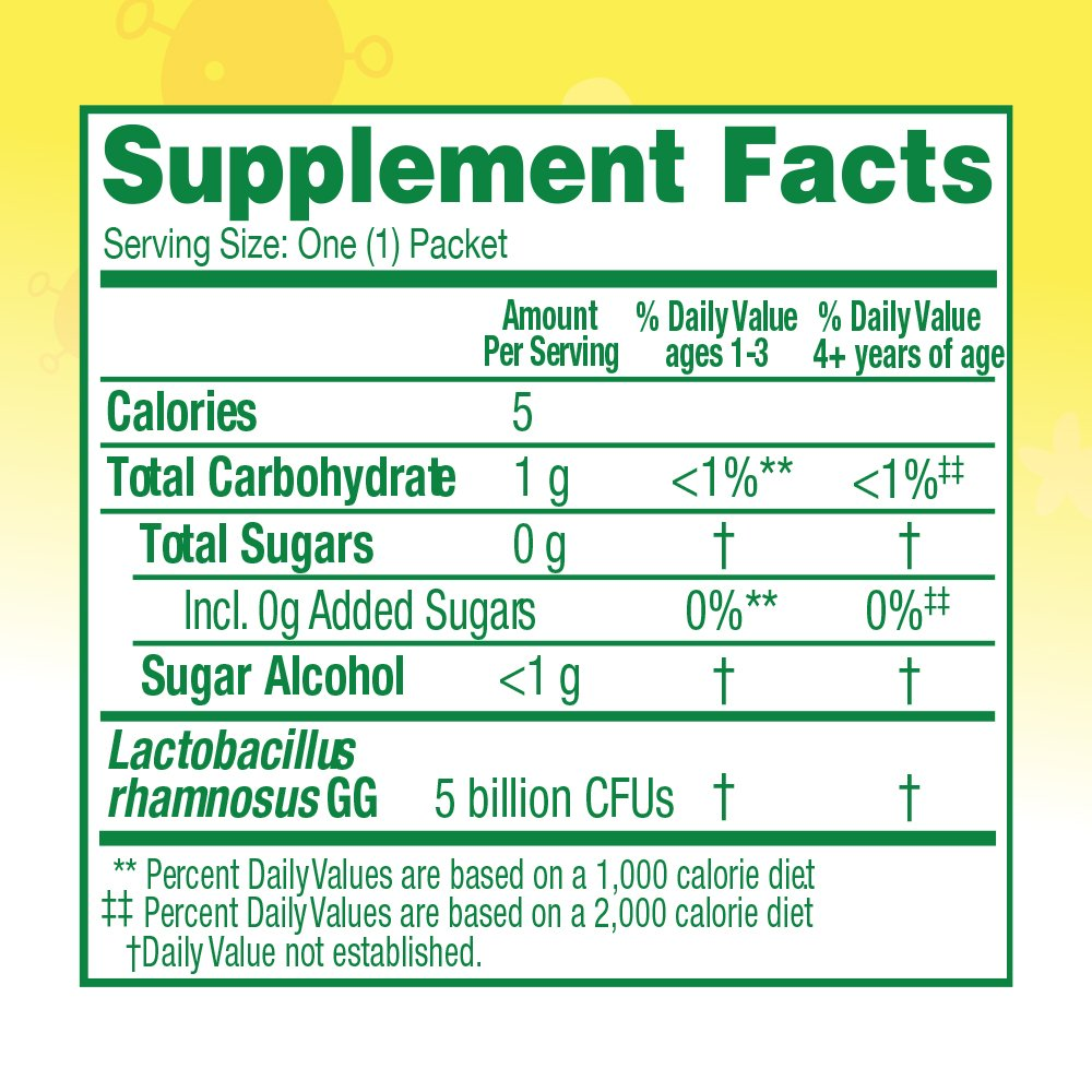 Culturelle Kids Packets Daily Probiotic Supplement | Helps Support a Healthy Immune & Digestive System* | For Children Age 1+ | #1 Pediatrician Recommended Brand | 30 Single Packets by Culturelle (Image #6)