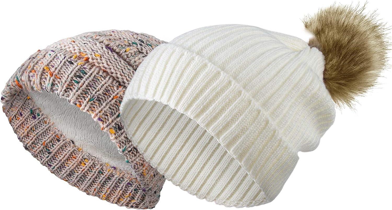 Buy \u0410utumn hat Warm Knit Hat Outdoor Stripes Hats Fashion Hats women/'s hat merino wool casual look Two-sided beanie hat