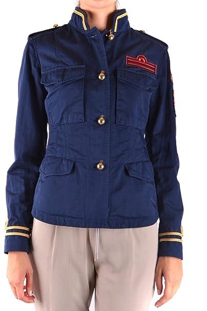 Donna it Mcbi121049o Giacca Blu Fay Amazon Cotone Abbigliamento AqHwR
