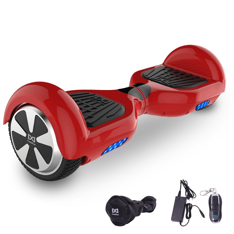 Cool Fun Hoverboard Patinete Eléctrico Scooter Monopatín Eléctrico Auto equilibrio Patín