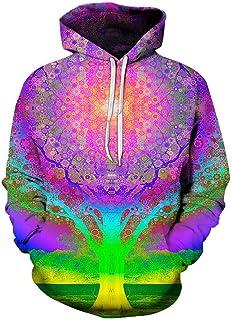 CYQSD Maglioni per Uomo E Donna Maglioni 3D Digital Print Hoodie Vestiti di Grandi Dimensioni Tute da Baseball Coppie Top Outdoor Felpe A Maniche Lunghe