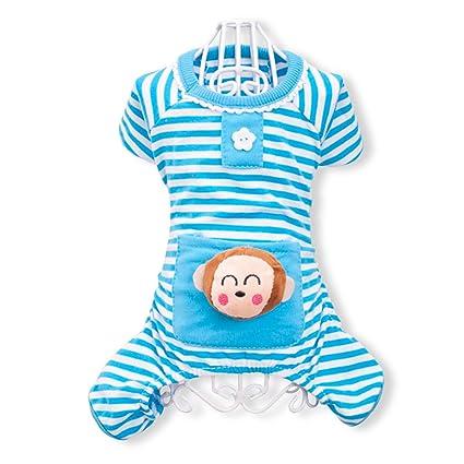 PETCUTE Cute Ropa para Perros Pijamas Ropa de Algodón Suave Ropa de Mascotas de Cuatro Patas