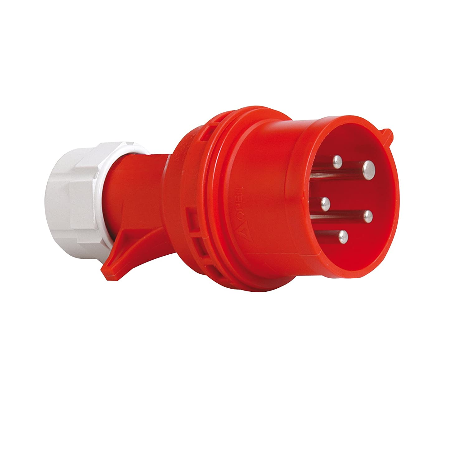 PCE 40829L CEE Phase Change Plug 16 A Red
