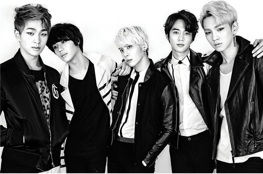 Amazon.com: Fanstown Shinee Kpop Poster A3 Poto Paper Onew Key Minho Taemin Jonghyun Size 28cm x42cm: Posters & Prints