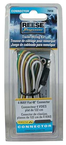71kMh6KijXL._SY550_ amazon com reese towpower 78058 trailer wiring kit automotive reese trailer wiring harness at n-0.co