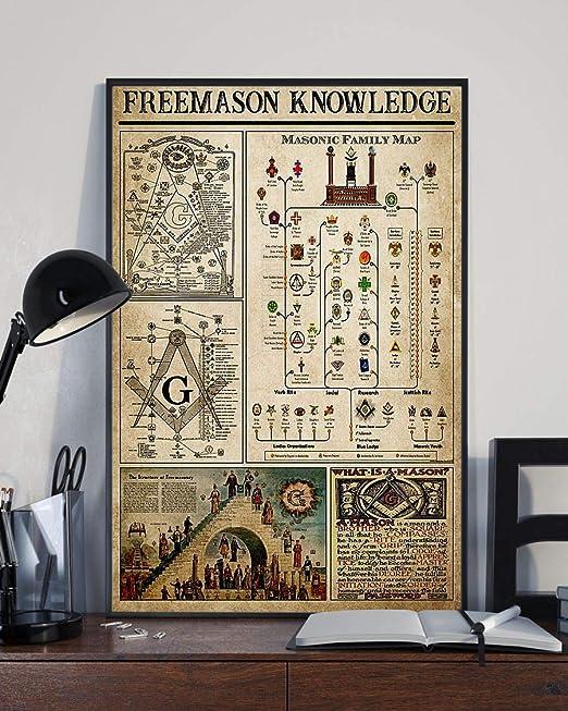 Electrician Knowledge Black//White Satin Poster No Frame