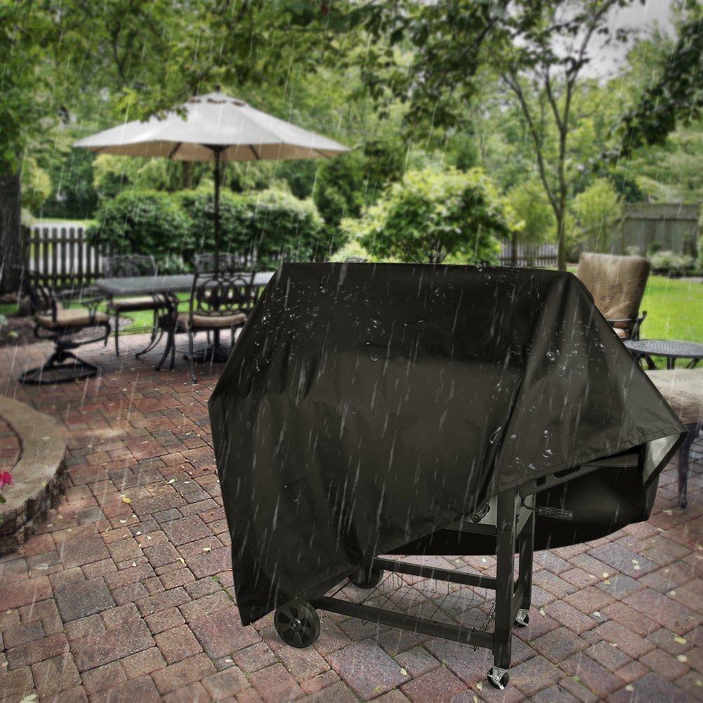 Copri barbecue Copertura Barbecue 145x61x117cm Copertura Barbecue Impermeabile Telo Protettivo per BBQ Grill Telo Copertura Barbecue