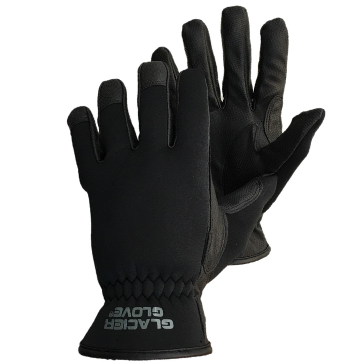 Glacier Outdoor Premium Lightweight Shooting and Tactical Glove (Black) 782BK