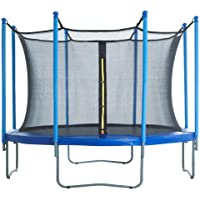 FUXION SPORTS Trampolin Brincolin 8 Ft (2.43 m) Mediano Azul