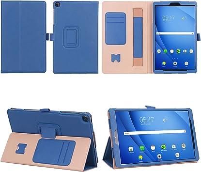 VOVIPO Samsung Galaxy Tab A 10.1 2019 Funda, Funda de Cuero Premium Estuche Protector de Folio