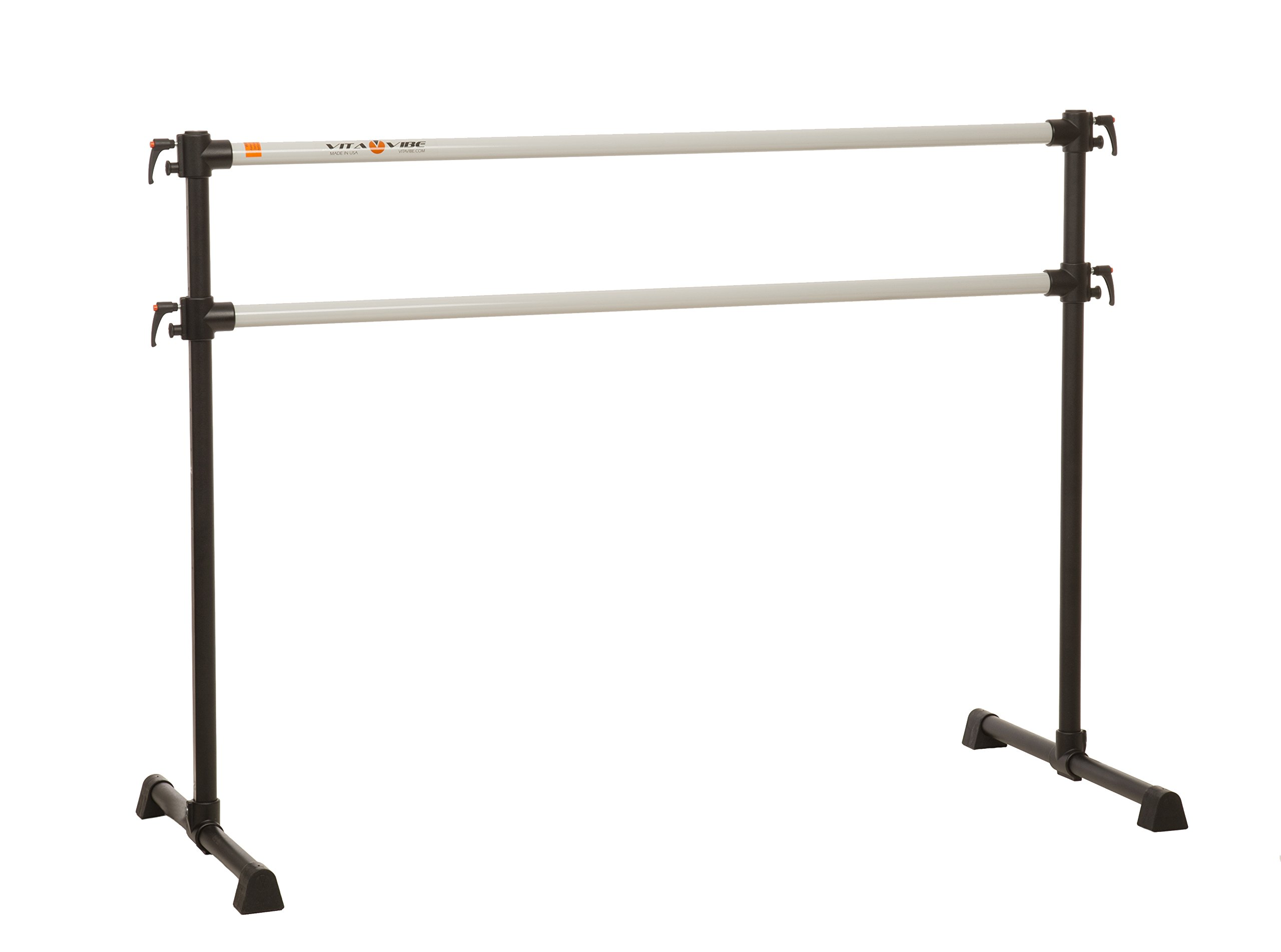 Vita Vibe Ballet Barre - PBD96 8ft Portable DOUBLE Bar - Freestanding Stretch/Dance Bar - Vita Vibe - USA Made