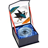 $44 Get San Jose Sharks Crystal Puck - Filled With Ice From the 2016-17 NHL Season - Fanatics Authentic Certified