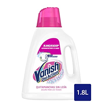 Vanish Oxi Action Quitamanchas y Blanqueador Gel para ...