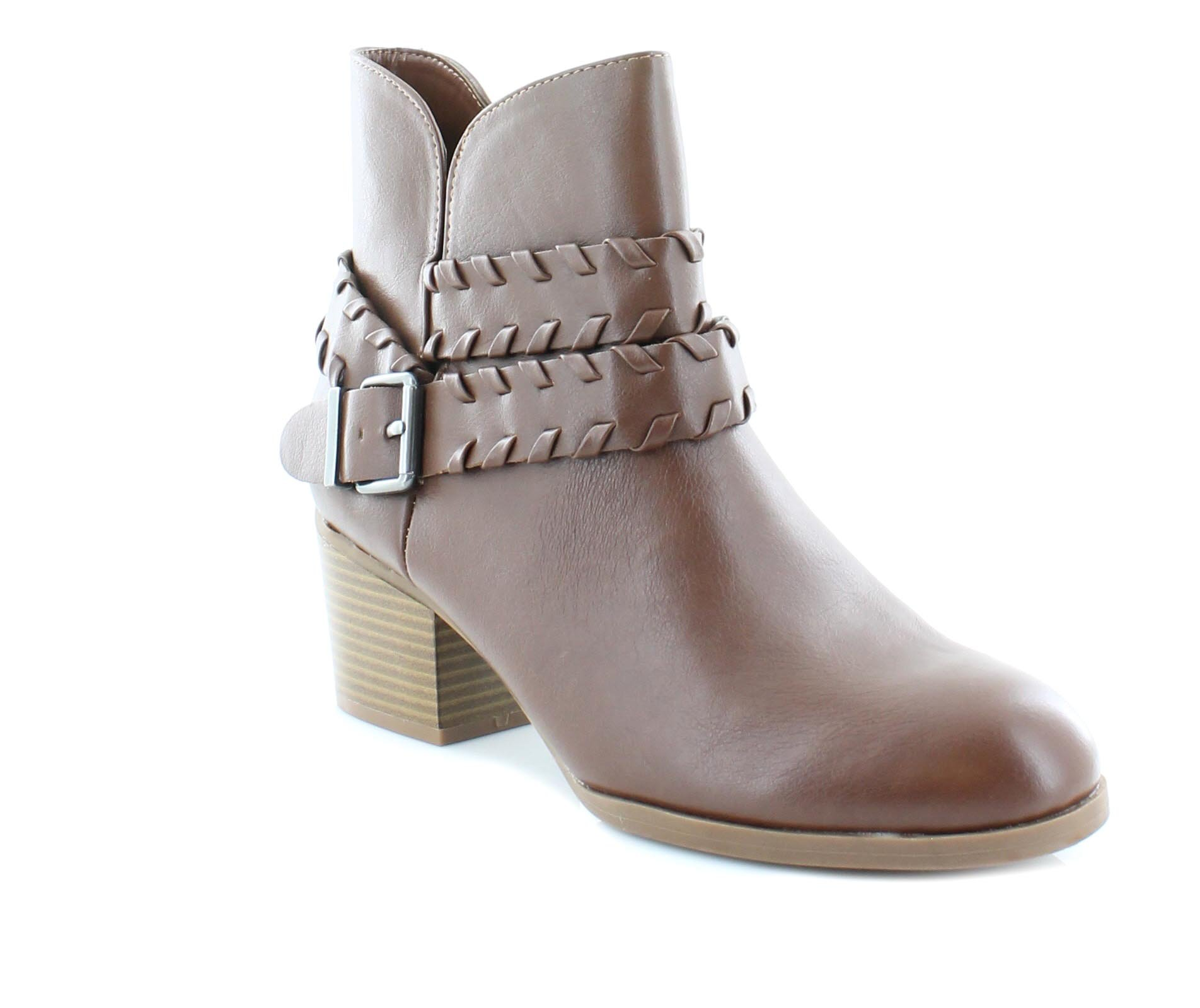Style & Co. Womens Dyanaa Closed Toe Ankle Fashion Boots, Barrel, Size 9.0
