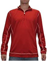 Tommy Bahama Mens Half-Zip Thermal Sweatshirt