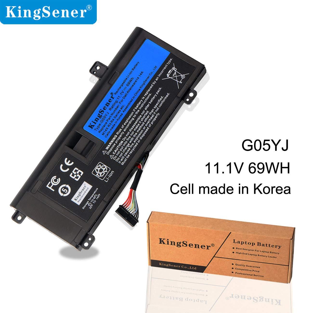KingSener - Batería para portátil DELL Alienware M14X R3 R4 ...