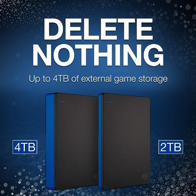 Seagate 2 TB Disco Duro USB Externo portátil de Disco Juego ...