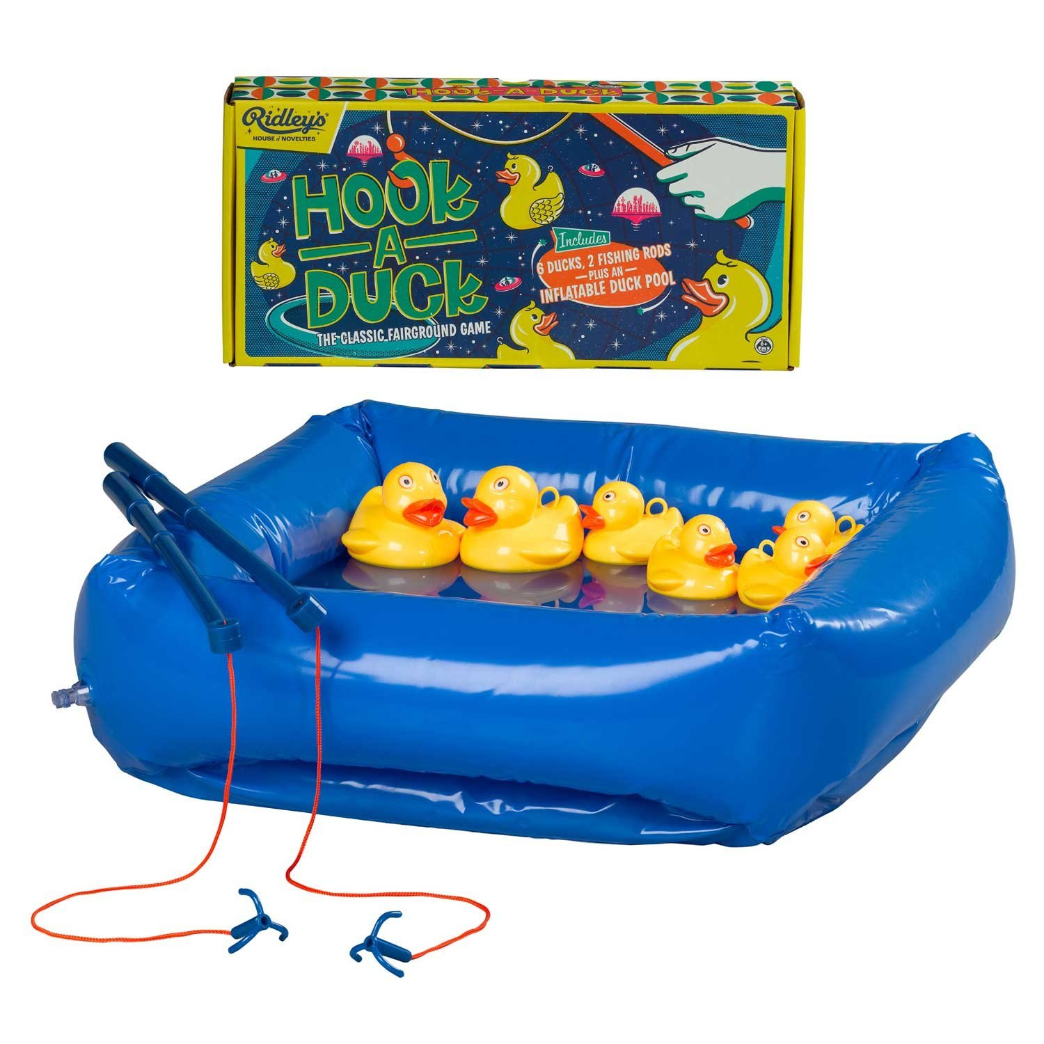Ridley's Outdoor Hook a Duck Game with Inflatable Pool