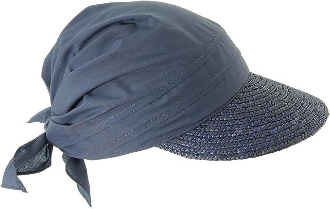Seeberger Stroh-/Stoffcap, Sombrero para Mujer: Amazon.es: Ropa ...