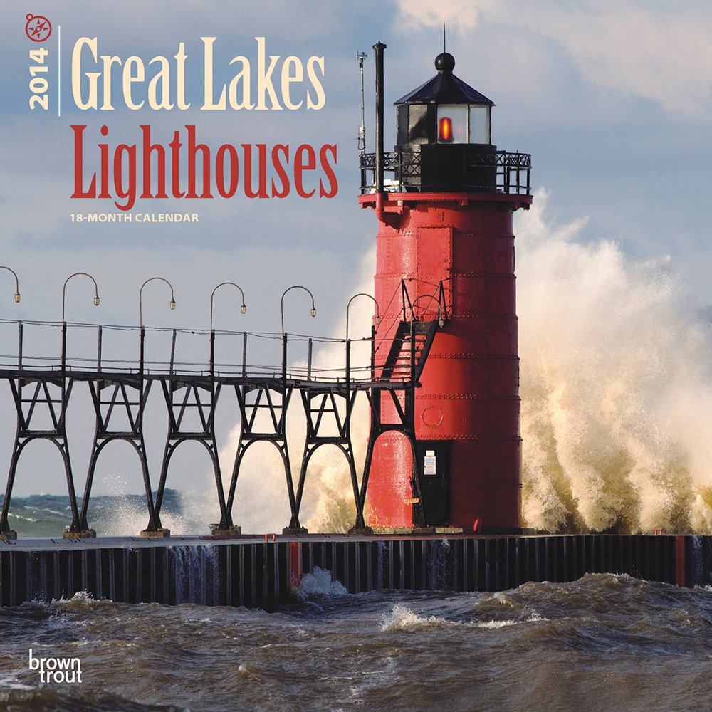 Great Lakes Lighthouses 18 Month 2014 Calendar (Multilingual Edition)