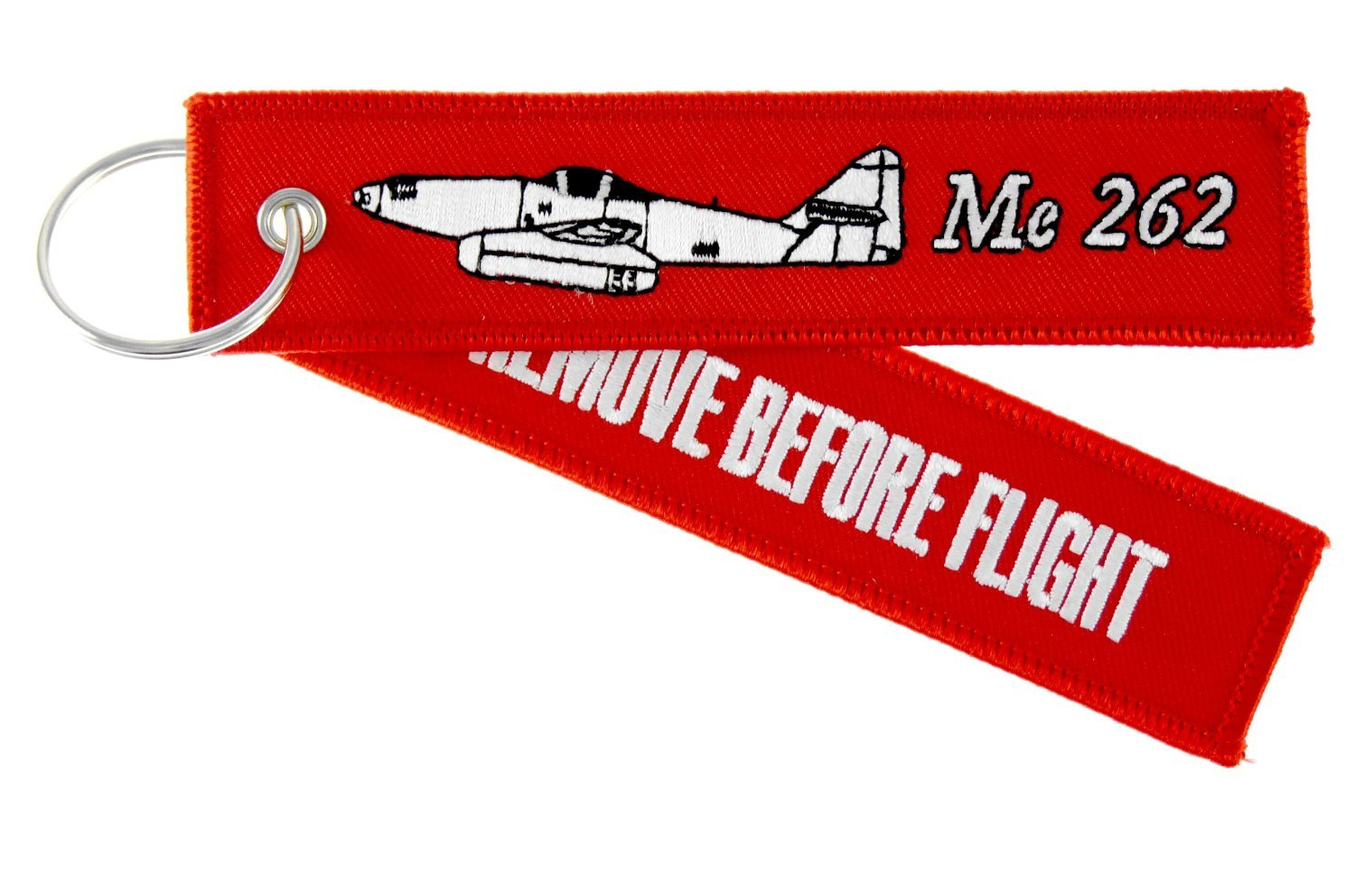 RUNWAY CONCEPT 2011 airliners.de Llavero - REMOVE BEFORE FLIGHT - Messerschmitt Me 262 Schwalbe (golondrina)