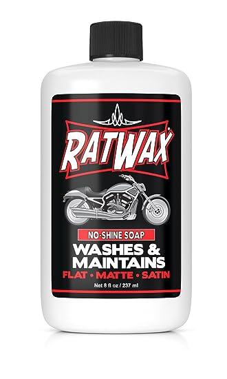 Rat Wax Matte Finish Motorcycle Soap