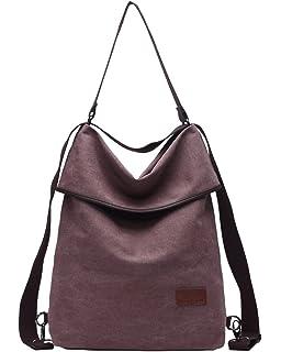 5bb078e8ca Travistar Women Multifunction Shoulder Bag Canvas Crossbody Casual Daypack  Handbag for work and daily use
