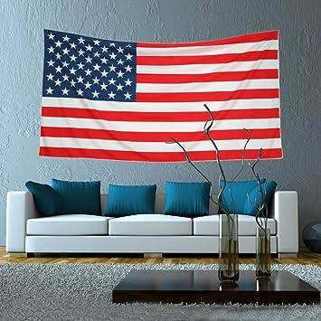 Iuhan® Fashion American Flag Wall Art Home Decor Towel Blanket Table Cloth  Wall Hanging Dorm