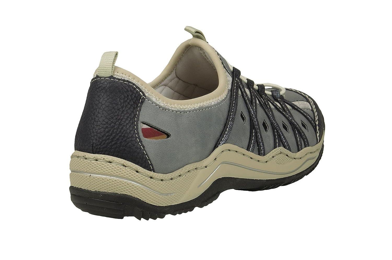 Rieker Damen L0559 Sneakers Pazifik/Adria/Royal/Silverflower / 14 14 14 bb350e
