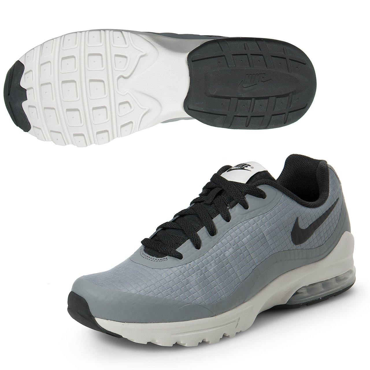 Nike Men's Air Max Invigor SE Cool Grey/Light Bone/Black Athletic Shoe by NIKE