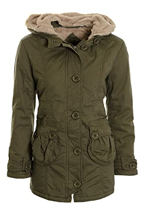 Women's parka coats uk