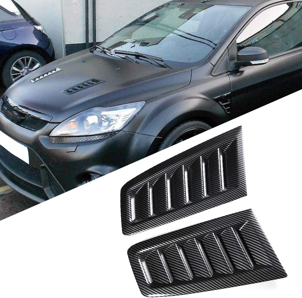 Dibiao Auto Car ABS Bonnet Air Vent Modified Accessory Fits for Focus RS MK2