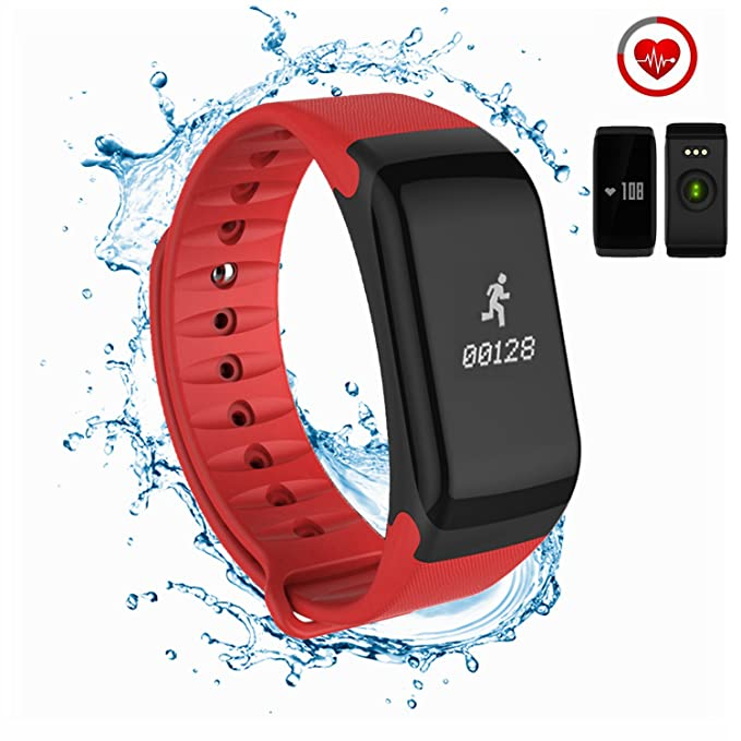 2 opinioni per Fitness Tracker, Coolfoxx CF01 Activity Tracker Smart Braceler con