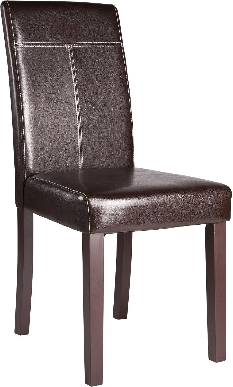 silla sidney tapizada con polipiel de alta calidad blanco