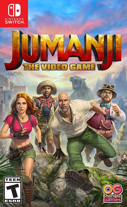 Jumanji: The Video Game for Nintendo Switch [USA]: Amazon.es ...