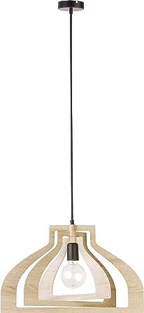 Lampe En De Lamelles Suspension Moderne Elbmöbel Plastique JK1cTlF