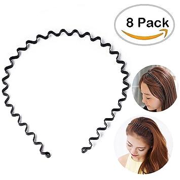 Amazon.com  Metal Hair Band bc5dca1a3ef
