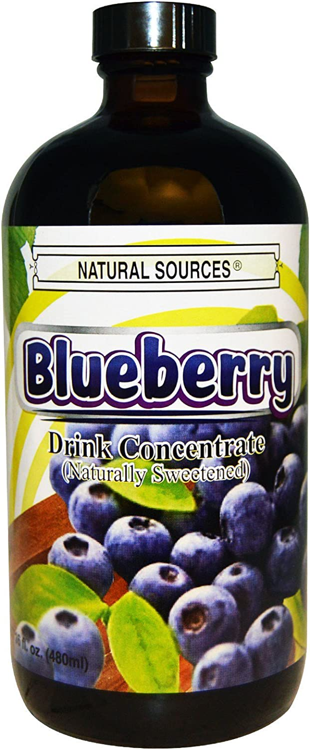 Natural Sources Drink Concentrate Blueberry - 16 fl oz