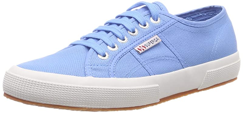 Superga 2750 Cotu Classic Sneakers Low-Top Unisex Damen Herren Azur Blau (Azure Blue)