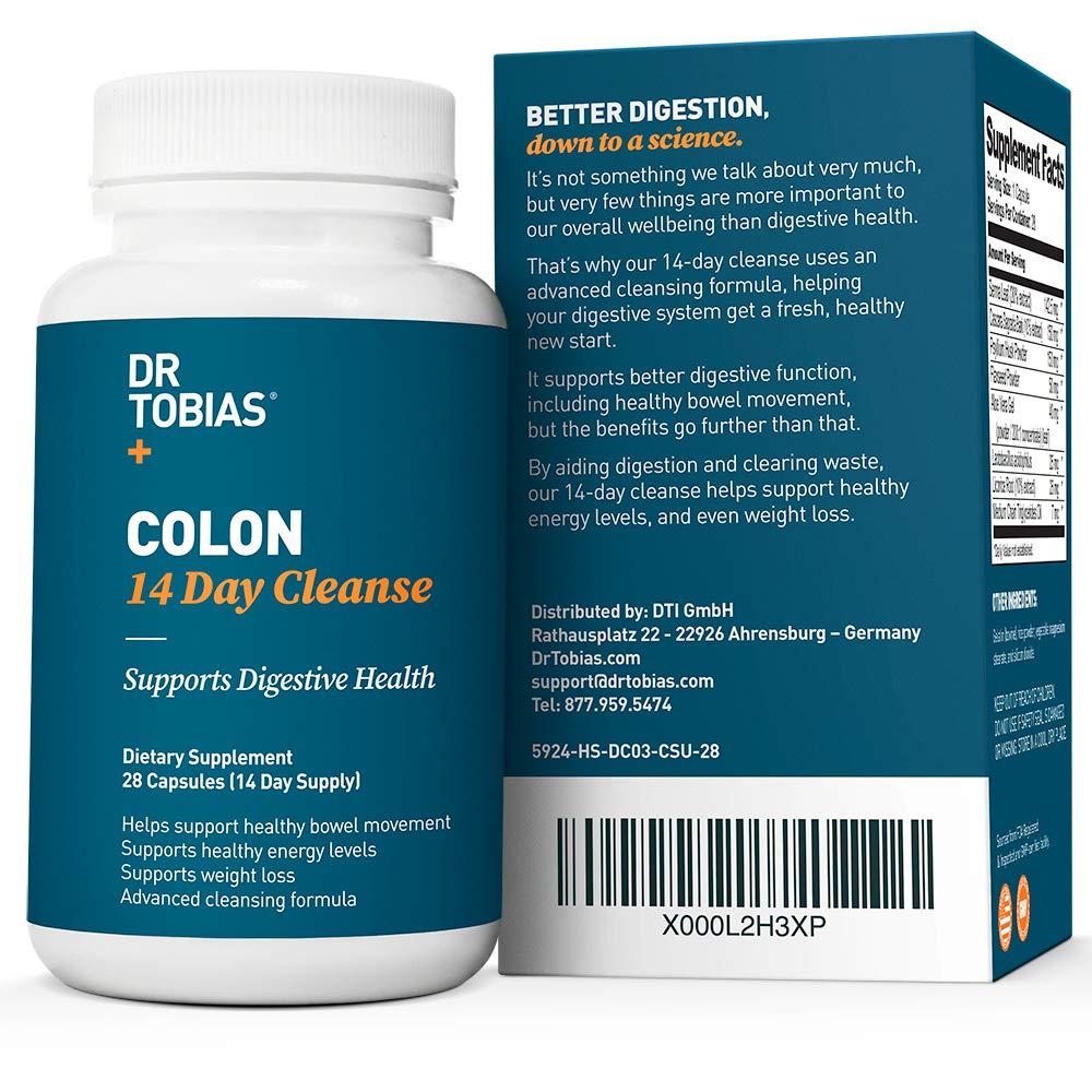 Amazon.com: Limpieza de colón Dr Tobiasd de 14 ...