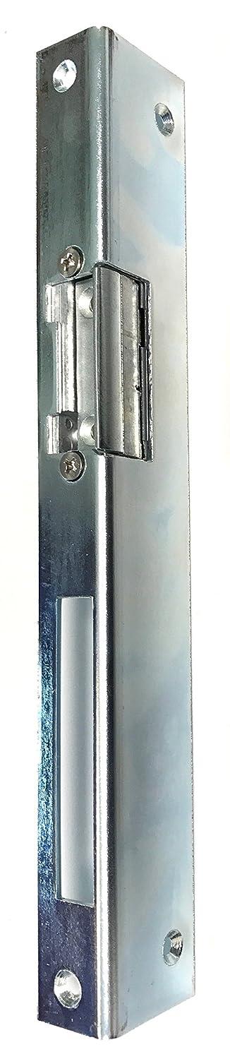 3 x 25 x 35 x 250 mit Entriegelung rechts Elektrischer T/ür/öffner Peso 300 6-12 Volt mit Schlie/ßblech Winkelschliessblech