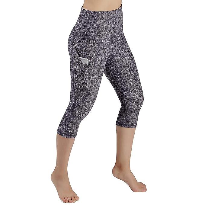 wergem Mujeres Yoga Fitness Running Gym Stretch Deportes Pantalones Pantalones Leggings Yoga