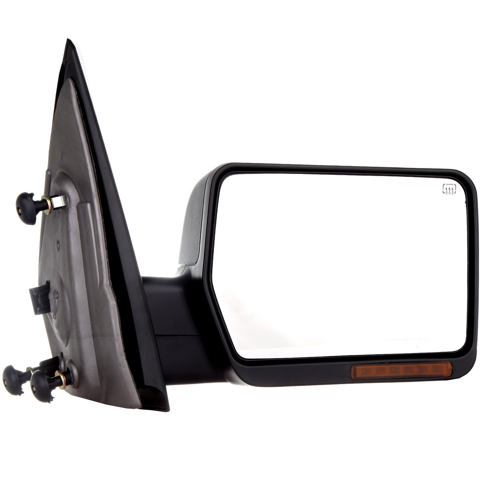Towing Mirror For 2004-06 Ford F-150 Rear View Mirror Automotive Exterior Mirrors with Power Heated Front LED Signals (Passenger Side) by SCITOO (Image #2)