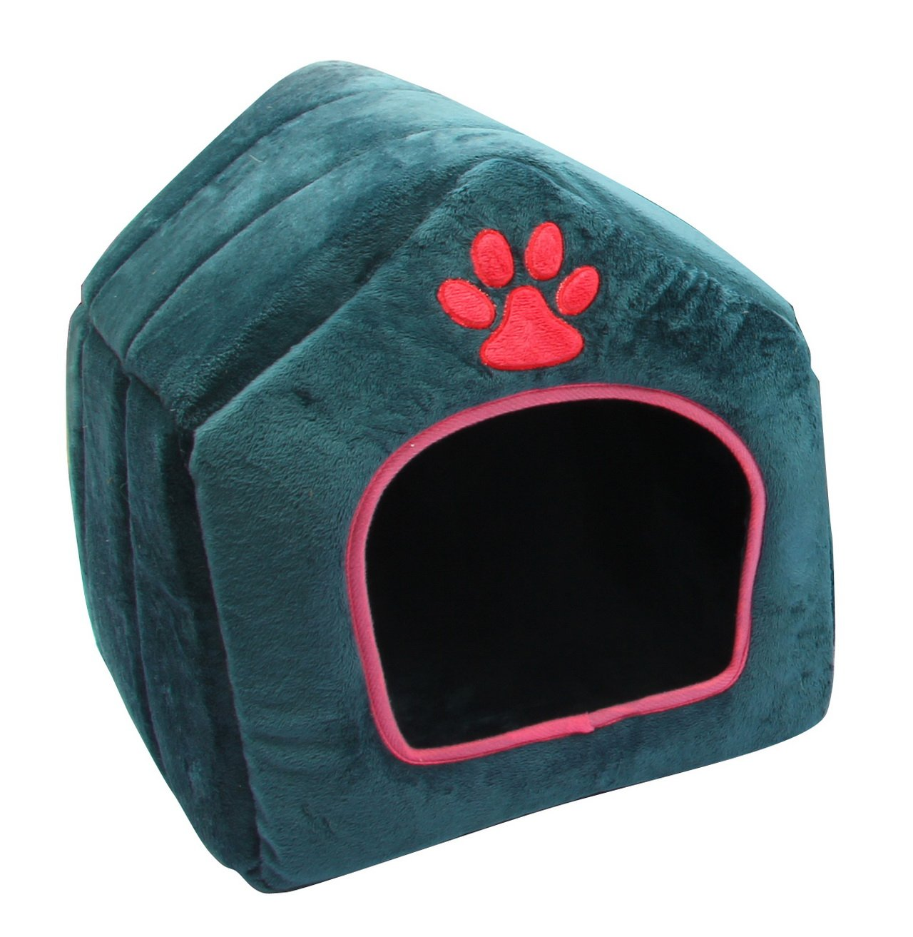 Purrrfect life PL14095-C Super Enclosed House-Shaped Pet Bed
