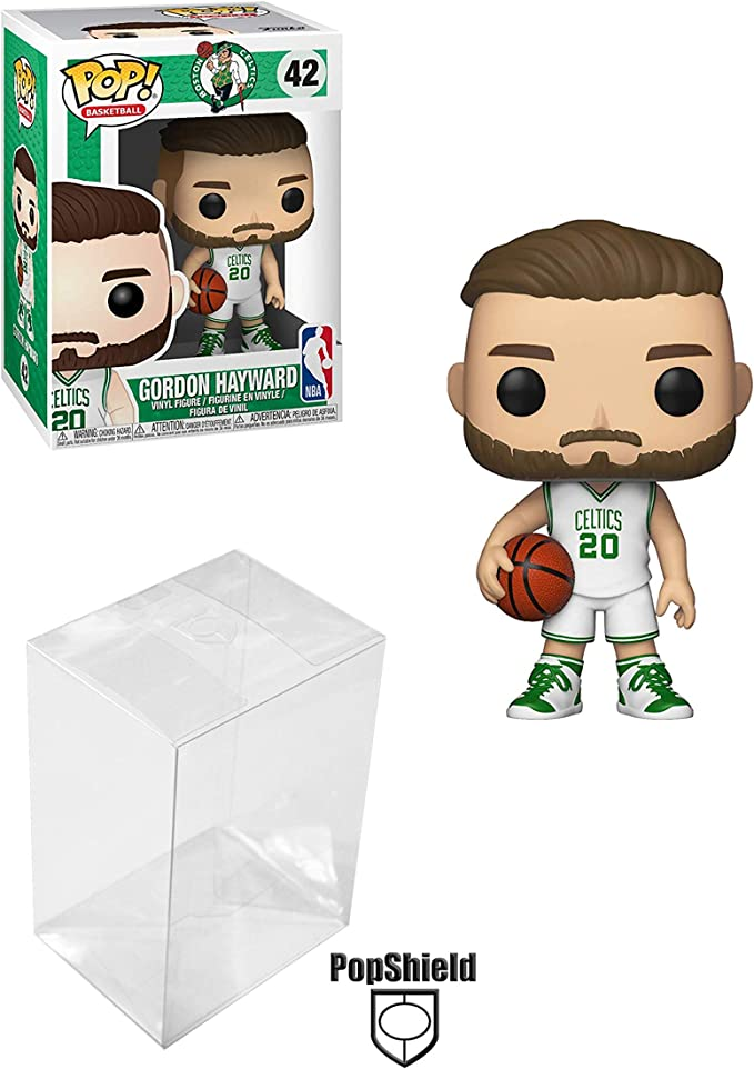 Funko Gordon Hayward Boston Celtics Pop Figura Bundle con Funda ...