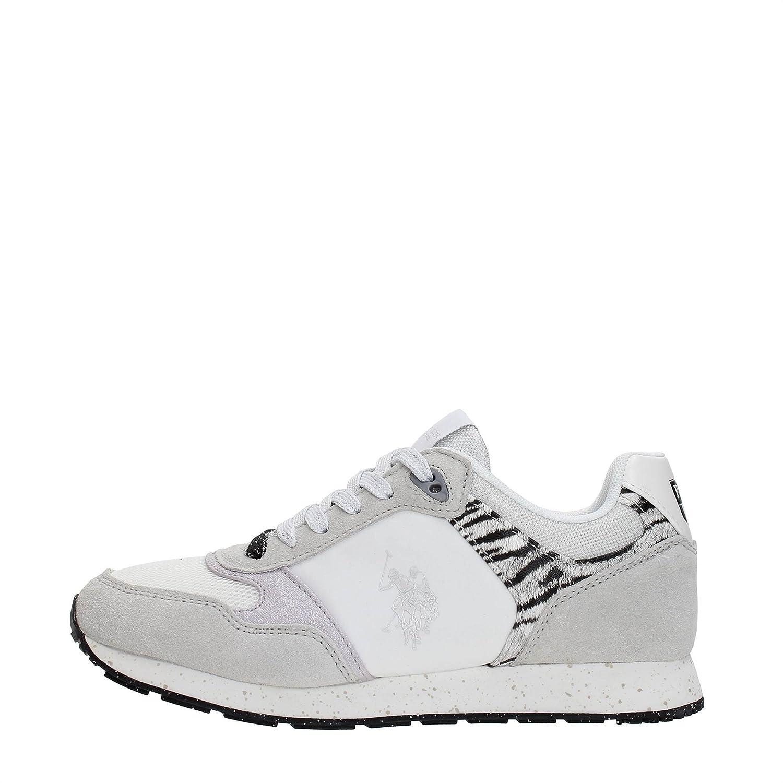 U.S. Polo Sneaker FREE4030S8_LT1 Mujer 40 EU|Blanco