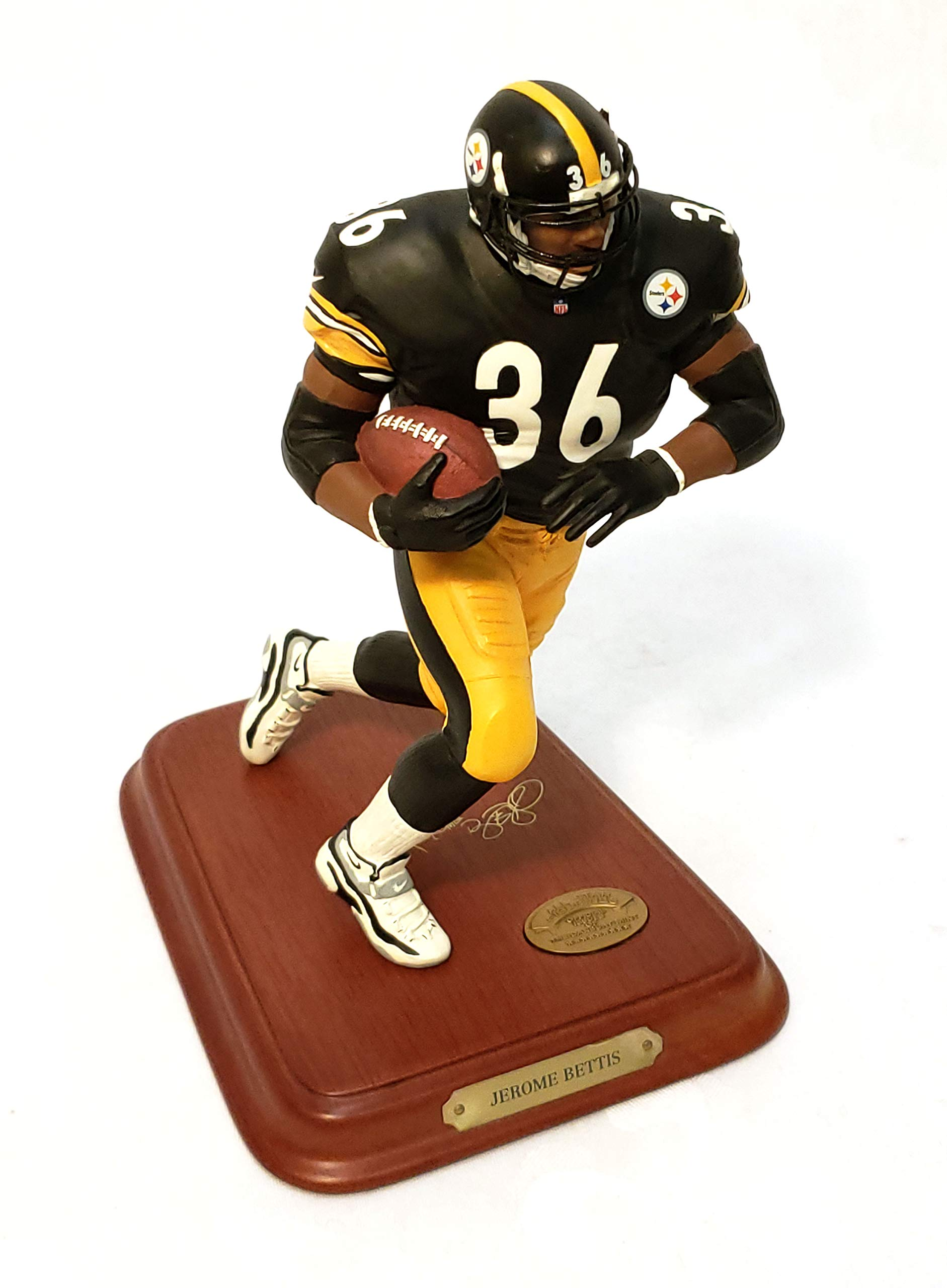 Pittsburgh Steelers Jerome Bettis Danbury Mint Statue Figurine w/COA
